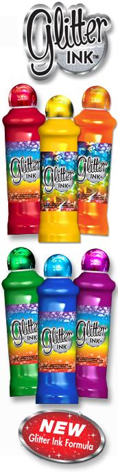 Glitter Bingo Ink Dauber Cactus Bingo Supply