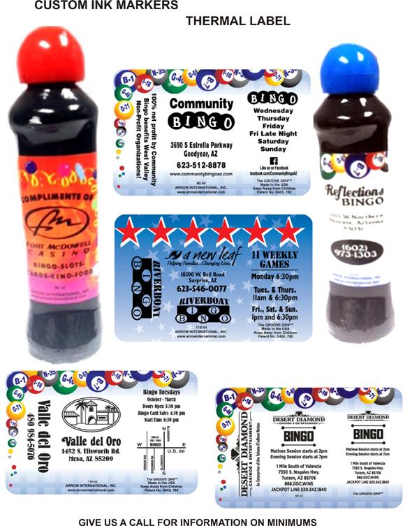 Custom Thermal Label Ink Program